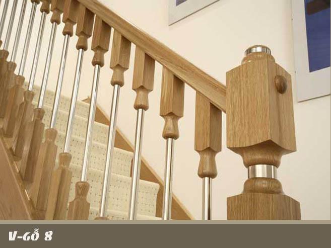 Cầu thang gỗ M19