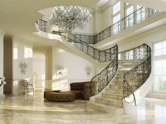 Lưu ý khi thiết kế cầu thang biệt thự